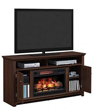 Eldersburg Infrared Electric Fireplace TV Stand In Woodland Cherry 26MM6297 PC42 0 2 300x360