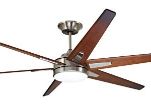 Emerson CF915W72BS 72 Inch Modern Rah Eco Ceiling Fan 6 Blade Ceiling Fan With LED Lighting And 6 Speed Wall Control 0 300x217