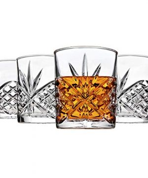 Godinger Old Fashioned Whiskey Glasses Shatterproof And Reusable Acrylic Dublin Collection Set Of 4 0 0 300x360