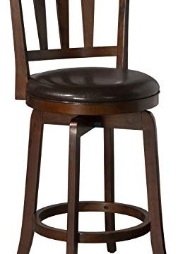 Hillsdale Presque Isle Swivel Counter Height Stool Cherry 0 252x360