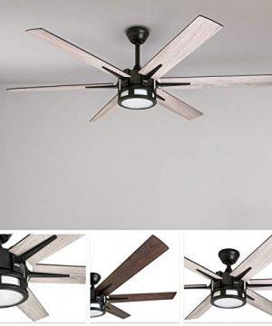 Honeywell 51036 Kaliza Modern Ceiling Fan With Remote Control 56 Espresso 0 0 300x360