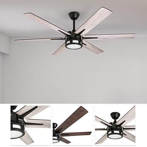 Honeywell 51036 Kaliza Modern Ceiling Fan With Remote Control 56 Espresso 0 0