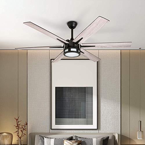 Honeywell 51036 Kaliza Modern Ceiling Fan With Remote Control 56 Espresso 0 1