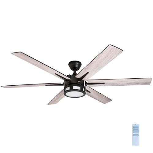 Honeywell 51036 Kaliza Modern Ceiling Fan With Remote Control 56 Espresso 0