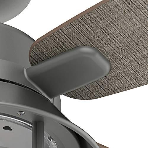 Hunter Fan Company 50390 Port Royale Ceiling Fan 52 Matte Silver 0 3