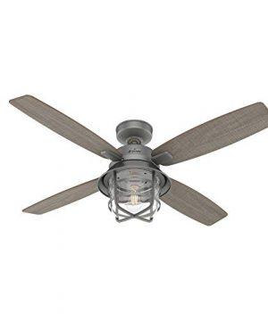 Hunter Fan Company 50390 Port Royale Ceiling Fan 52 Matte Silver 0 300x360