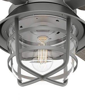 Hunter Fan Company 50390 Port Royale Ceiling Fan 52 Matte Silver 0 4 300x360