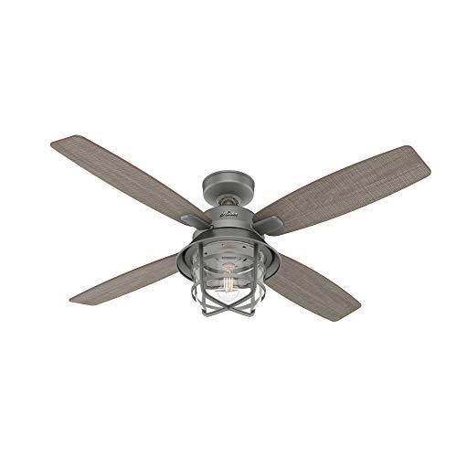 Hunter Fan Company 50390 Port Royale Ceiling Fan 52 Matte Silver 0