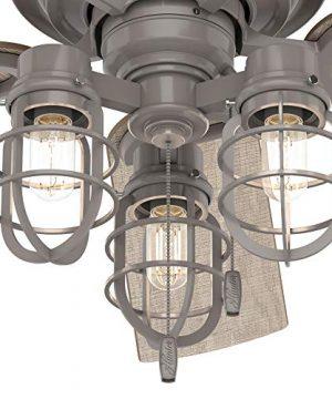 Hunter Fan Company 50410 Starklake Ceiling Fan 52 Quartz Gray 0 0 300x360
