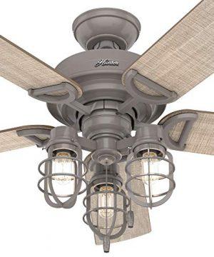 Hunter Fan Company 50410 Starklake Ceiling Fan 52 Quartz Gray 0 1 300x360