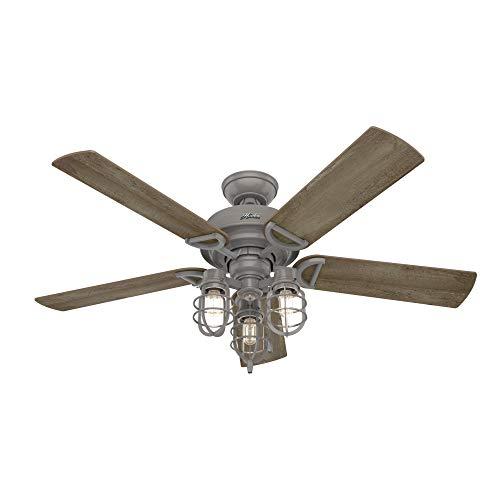 Hunter Fan Company 50410 Starklake Ceiling Fan 52 Quartz Gray 0 3