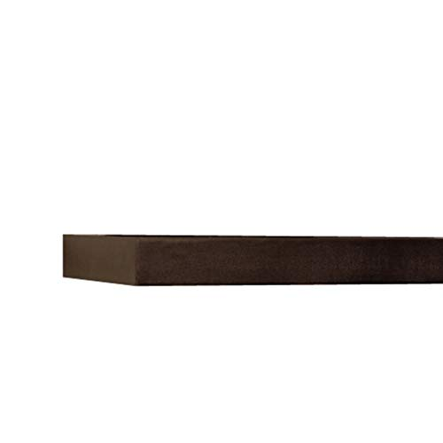 InPlace Shelving Espresso Lewis Hyman 9084650 Floating Wall Shelf 4724 Inch Wide By 2 Inch High 4724 In W X 102 In D X 2 In H 0 4