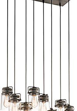 Kichler 42890OZ Brinley Chandelier 8 Light Incandescent 800 Total Watts Olde Bronze 0 250x360