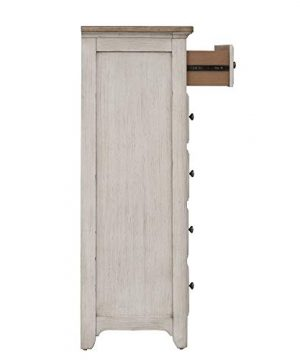 Liberty Furniture Industries Farmhouse Reimagined 5 Drawer Chest W38 X D19 X H54 White 0 3 300x360