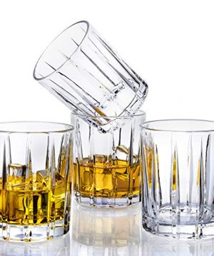 Lighten Life Whiskey Glasses Set 411oz Crystal Scotch Glasses In Luxury BoxPremium Double Old Fashioned Glass For Bourbon Cognac Cocktail LiquorRocks Glasses For Birthday Christmas Anniversary 0 2 300x360