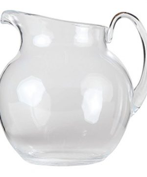 Lilys Home Shatterproof Plastic Pitcher The Large Capacity Makes It Excellent For Parties Both Indoor And Outdoor Clear 110 Ounces 0 2 300x360