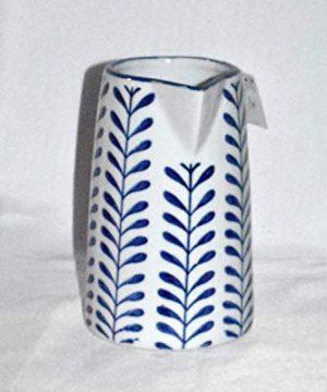 New 8 Adorable Blue White Vine Porcelain Water Juice Pitcher 0 1 300x360