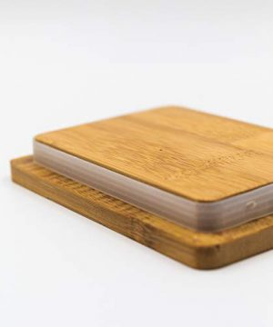 Pash Vista Butter Me Up Butter Cup Porcelain Butter Dish Secure Airtight Bamboo Lid With Seal Ring Stylish Large Porcelain Butter Dish Quality And Value 0 4 300x360