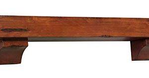 Pearl Mantels 412 72 50 Shenandoah Pine 72 Inch Fireplace Mantel Shelf Rustic Medium 0 3 300x158