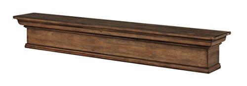 Pearl Mantels 420 72 15 Savannah Mantel Shelf 72 Inch Taos Finish 0 1