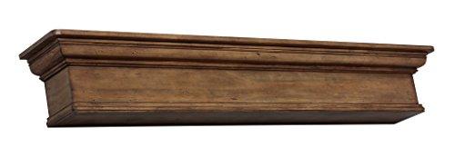Pearl Mantels 420 72 15 Savannah Mantel Shelf 72 Inch Taos Finish 0 4
