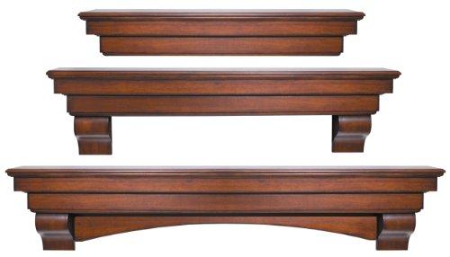 Pearl Mantels 495 60 The Auburn Mantel Shelf 60 Unfinished 0 2