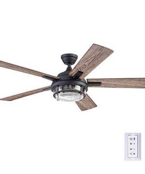 Prominence Home 51484 01 Freyr Ceiling Fan 52 Heavy Textured Black 0 300x360