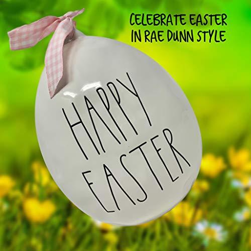 Rae Dunn Large Easter Egg White 0 0