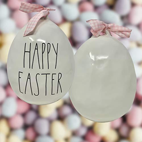 Rae Dunn Large Easter Egg White 0 3