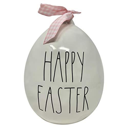 Rae Dunn Large Easter Egg White 0
