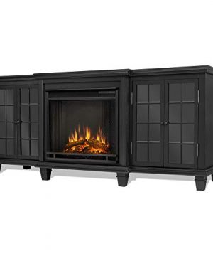 Real Flame Marlowe Fireplace TV Stand In Black 0 300x360