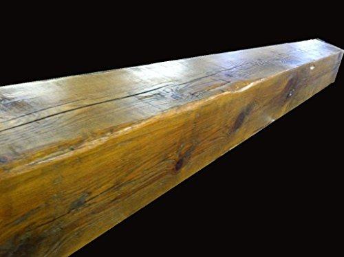 Reclaimed Barnwood Beam Fireplace Mantel Wood 4x6x72 0 0