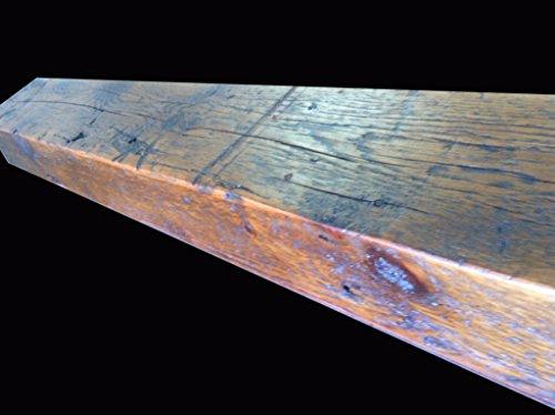 Reclaimed Barnwood Beam Fireplace Mantel Wood 4x6x72 0 1