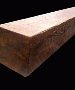 Reclaimed Barnwood Beam Fireplace Mantel Wood 4x6x72 0 3 300x360