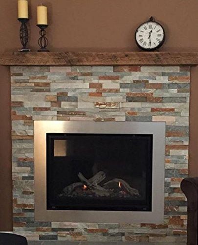 Reclaimed Barnwood Beam Fireplace Mantel Wood 4x6x72 0 5