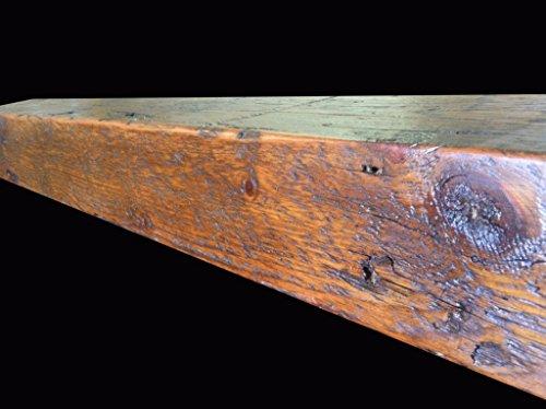 Reclaimed Barnwood Beam Fireplace Mantel Wood 4x6x72 0