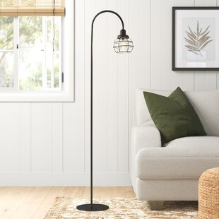 Santa+Monica+59_+Arched+Floor+Lamp