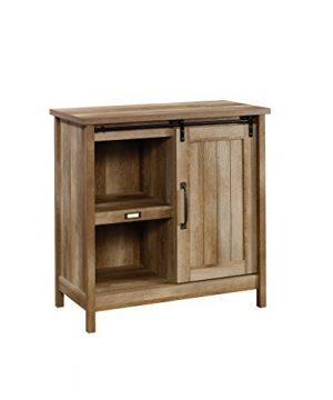 Sauder Adept Storage Accent Storage Cabinet For TVs Up To 39 Craftsman Oak Finish 0 300x360
