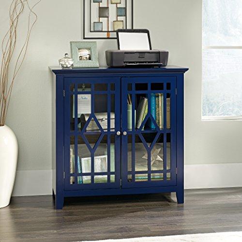 Sauder Shoal Creek Display Cabinet Indigo Blue Finish 0 0
