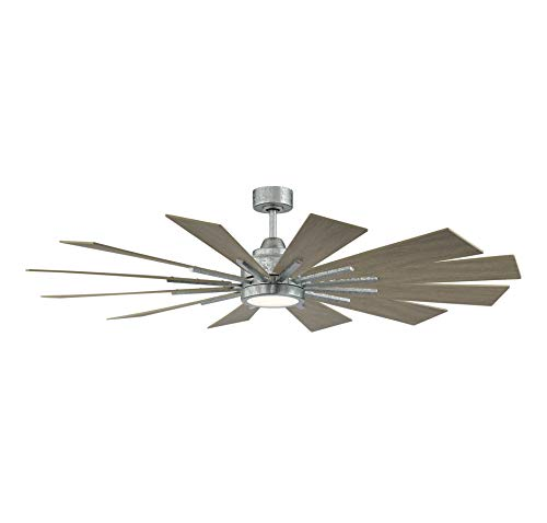 Savoy House 60 760 12WO 168 Farmhouse 60 Weathered Oak Ceiling Fan 60 W X 62H 0 0