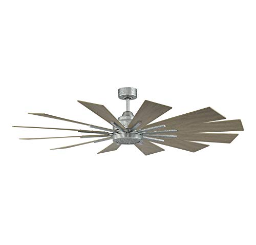 Savoy House 60 760 12WO 168 Farmhouse 60 Weathered Oak Ceiling Fan 60 W X 62H 0 5