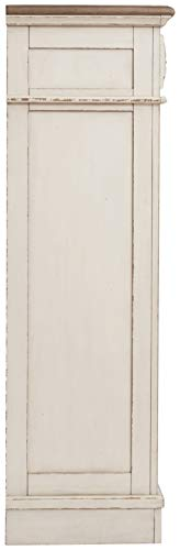 Signature Design By Ashley B743 46 Realyn Chest Of Drawers Chipped White 0 3