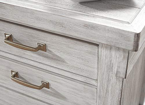 Signature Design By Ashley Brashland Dressers White White Dresser 0 1