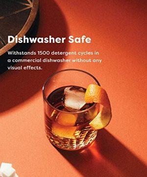 TOSSWARE RESERVE 12oz Old Fashion SET OF 4 Tritan Dishwasher Safe Heat Resistant Unbreakable Plastic Whiskey Glasses 0 2 300x360