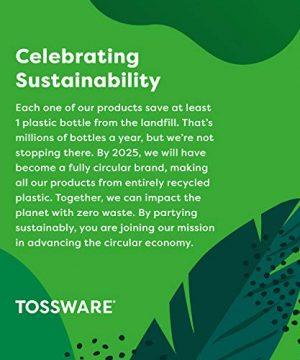 TOSSWARE RESERVE 12oz Old Fashion SET OF 4 Tritan Dishwasher Safe Heat Resistant Unbreakable Plastic Whiskey Glasses 0 4 300x360