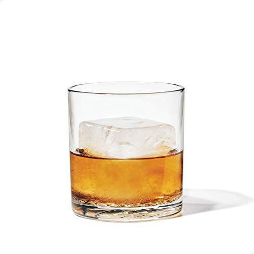 TOSSWARE RESERVE 12oz Old Fashion SET OF 4 Tritan Dishwasher Safe Heat Resistant Unbreakable Plastic Whiskey Glasses 0