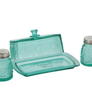The Pioneer Woman Adeline Glass Butter Dish With Salt And Pepper Shaker Set 0 0 300x360