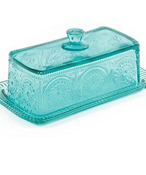 The Pioneer Woman Adeline Glass Butter Dish With Salt And Pepper Shaker Set 0 3 300x360