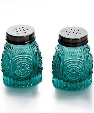 The Pioneer Woman Adeline Glass Butter Dish With Salt And Pepper Shaker Set 0 4 300x360