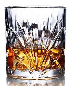 Whiskey Glasses Set Of 6 10oz Premium Lead Free Crystal Whiskey Glass Rock Style Old Fashioned Glass For Drinking Scotch Bourbon Cognac Irish Whisky And Old Fashioned Cocktails 0 0 300x360